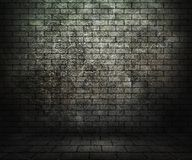 Grunge Brick Room Stock Photography
