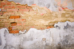 Grunge brick texture Stock Photography