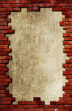Grunge brick textured background Royalty Free Stock Photography