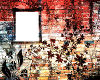 Grunge brick wall Stock Image