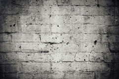 Grunge Brick Wall Background Stock Photo