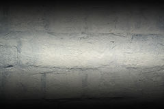 Grunge brick wall. Background with dark mirror gradient effec royalty free stock photography
