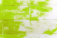Grunge brick wall. With peeled paint layer Royalty Free Stock Image