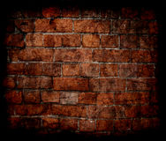 Grunge brick wall texture Stock Images