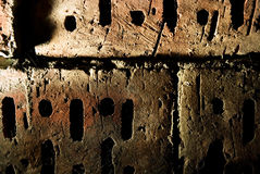 Grunge brick wall texture. Picture of a Grunge brick wall texture Stock Photos