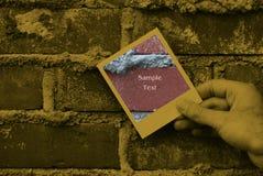 Grunge Brick Work Stock Photo