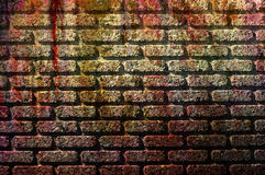 Grunge bricks wallpaper Stock Photography