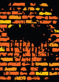 Grunge Brickwall Design Royalty Free Stock Images