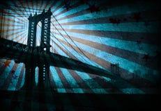 Grunge Bridge Royalty Free Stock Photo