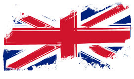 Grunge Britain flag Stock Photos