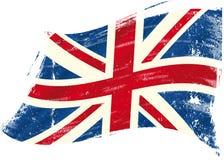 Grunge BRITANNIQUE de drapeau illustration de vecteur