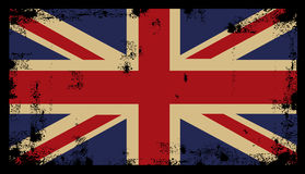 Grunge British Background 2. Grunge British Background flag vector Royalty Free Stock Image