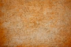 Grunge brown concrete wall Stock Image