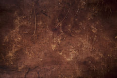 Grunge brown leather texture Royalty Free Stock Image