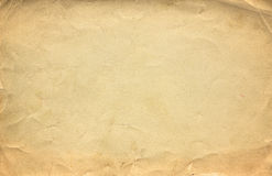 Grunge brown old paper texture or background with vignette.  stock photos