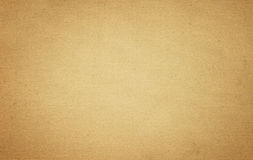 Grunge brown old paper texture or background with vignette Stock Photography