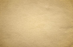 Grunge brown old paper texture or background with vignette Stock Image