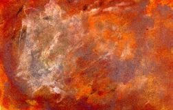 Grunge Brown Painted Texture Royalty Free Stock Images