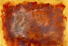 Grunge Brown Painted Texture Stock Images