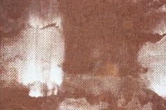 Grunge brown tło od fiberboard, pressboard tekstura z wzorem embossing z białymi punktami farba obrazy royalty free