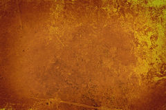 Grunge Brown Wall Background Stock Photography