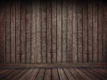 Grunge brown wooden background. For interior or wallpaper use Royalty Free Stock Photography