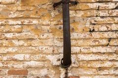 Grunge brudna stara ceglana kamienna ściana Zdjęcia Royalty Free