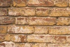 Grunge brudna stara ceglana kamienna ściana Obraz Stock