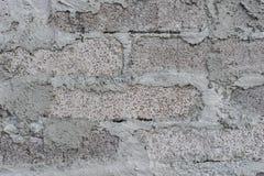 Grunge brudna stara ceglana kamienna ściana Obrazy Royalty Free