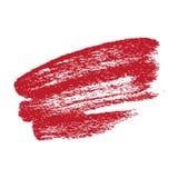 Grunge Brush Stroke. Red Grunge Brush Stroke vector eps illustration Royalty Free Stock Images