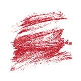Grunge Brush Stroke. Red Grunge Brush Stroke vector eps illustration Royalty Free Stock Photography