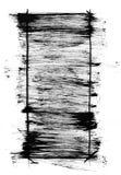 Grunge brush stroke texture frame Stock Images