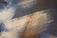 Grunge brush strokes paint texture. Stock Photography