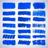 Grunge brush strokes. Royalty Free Stock Image