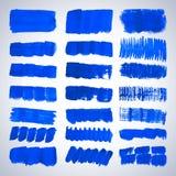Grunge brush strokes. Royalty Free Stock Image