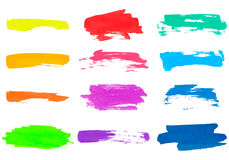 Grunge brush strokes. Stock Images
