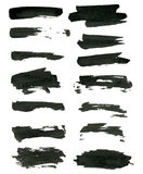 Grunge brush strokes. Royalty Free Stock Photography