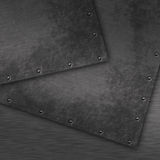 Grunge brushed metal background Stock Photography
