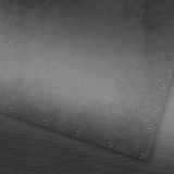 Grunge brushed metal background Stock Images
