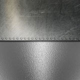Grunge brushed metal and chrome background Royalty Free Stock Images