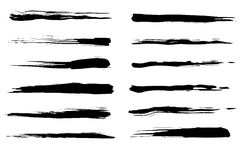 Grunge Brushes Royalty Free Stock Image