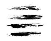 Grunge brushes Stock Images