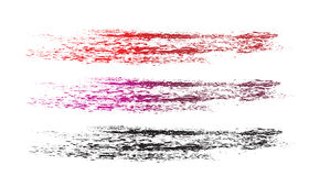 Grunge brushes line Royalty Free Stock Photography
