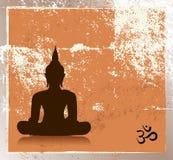 Grunge buddha image Royalty Free Stock Images