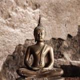 Grunge Buddha Royalty Free Stock Images