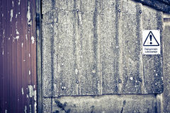 Grunge Building Background Royalty Free Stock Photography