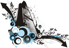 Grunge Building Background Royalty Free Stock Image
