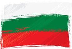 grunge bulgari flagę Obrazy Stock