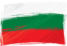 Grunge Bulgaria flag Stock Images