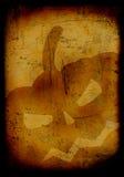 Grunge burned halloween background stock photos